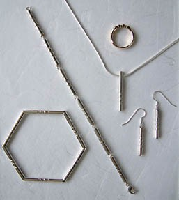 Contemporary Jewellery Tubes